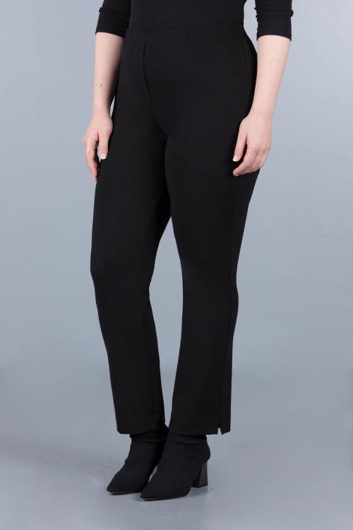 Straight fit trouser - Black