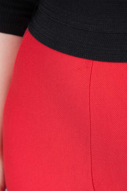 Pantalon caleçon - Rouge