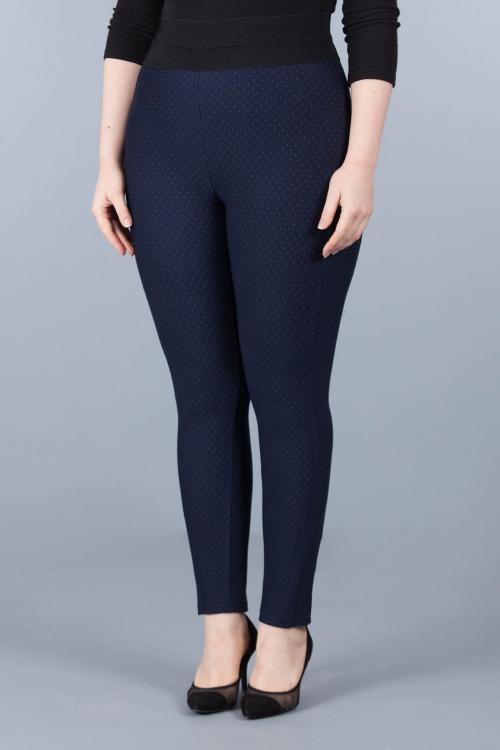 Pantalon caleçon - Marine pois