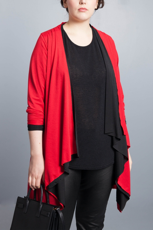 Flowing waistcoat - Red