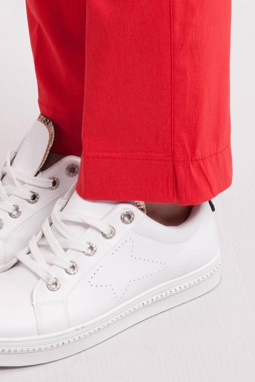 Pantalon bengaline-Rouge