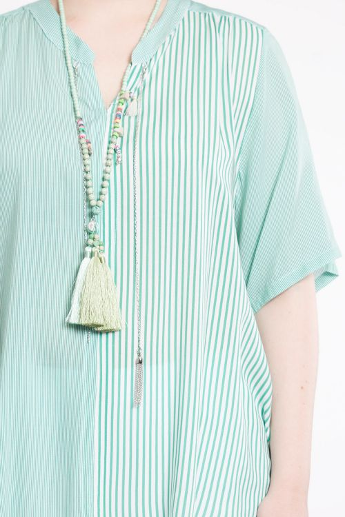 Spring striped shirt