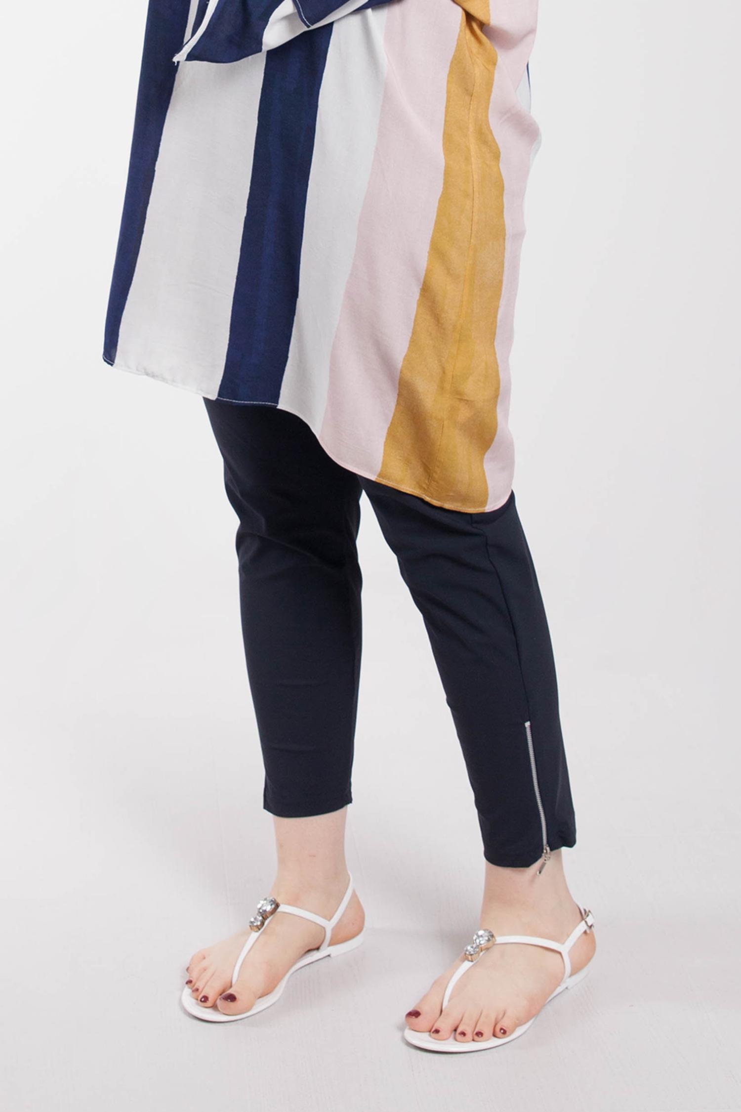 Calf zip underpants
