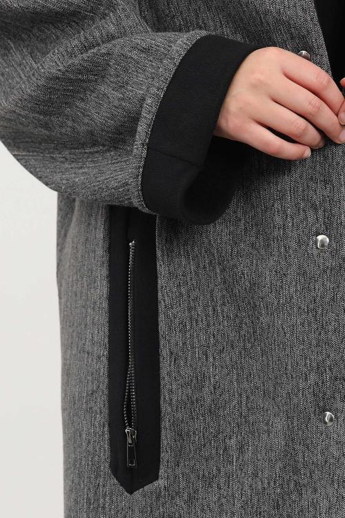 Veste en tweed doublée