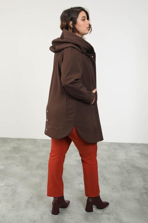 Manteau à capuche