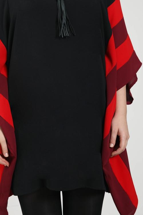 Tunique / Robe manches chauve souris