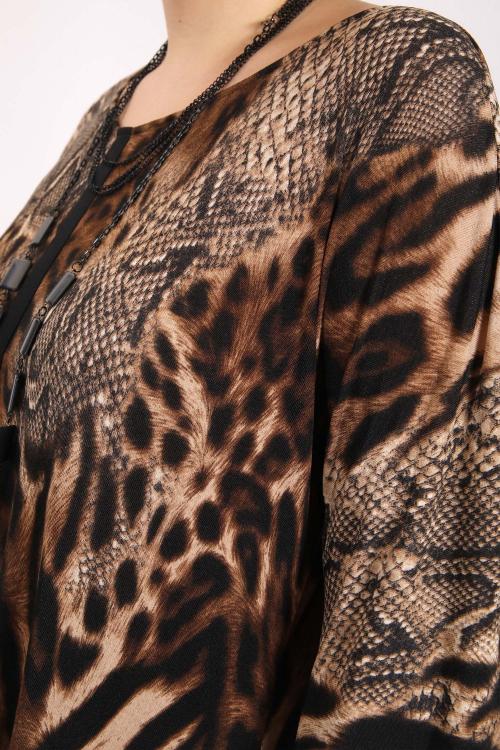 Robe imprimée python