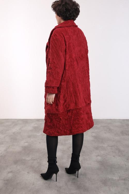 Manteau/veste effet froissé