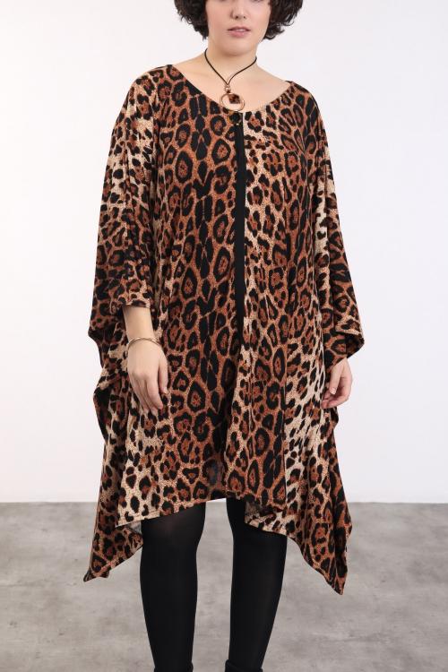 Robe imprimé panthère