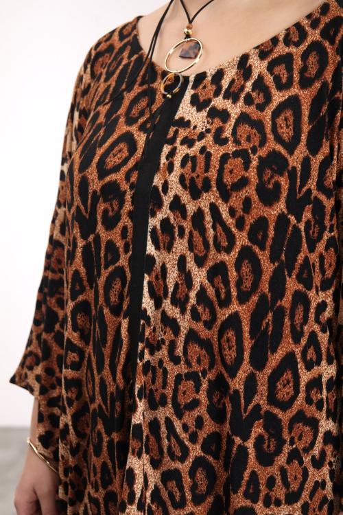 Robe imprimée panthère