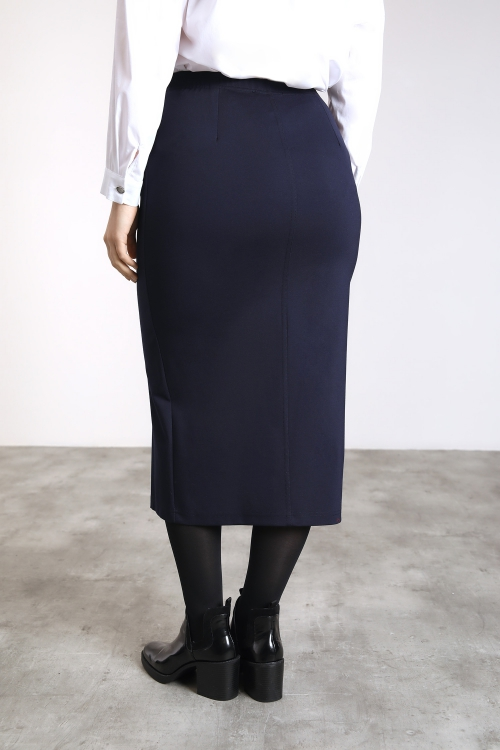 Jupe longue zippée