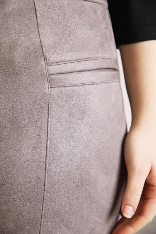 Pantalon-Taupe