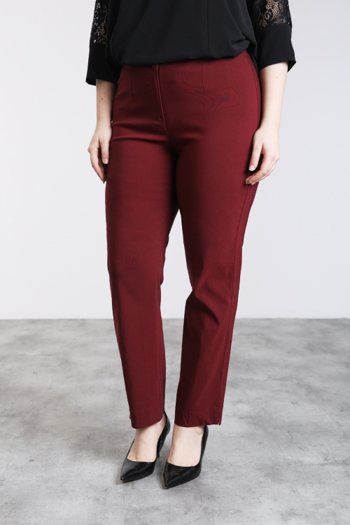 Pantalon-Bordeaux