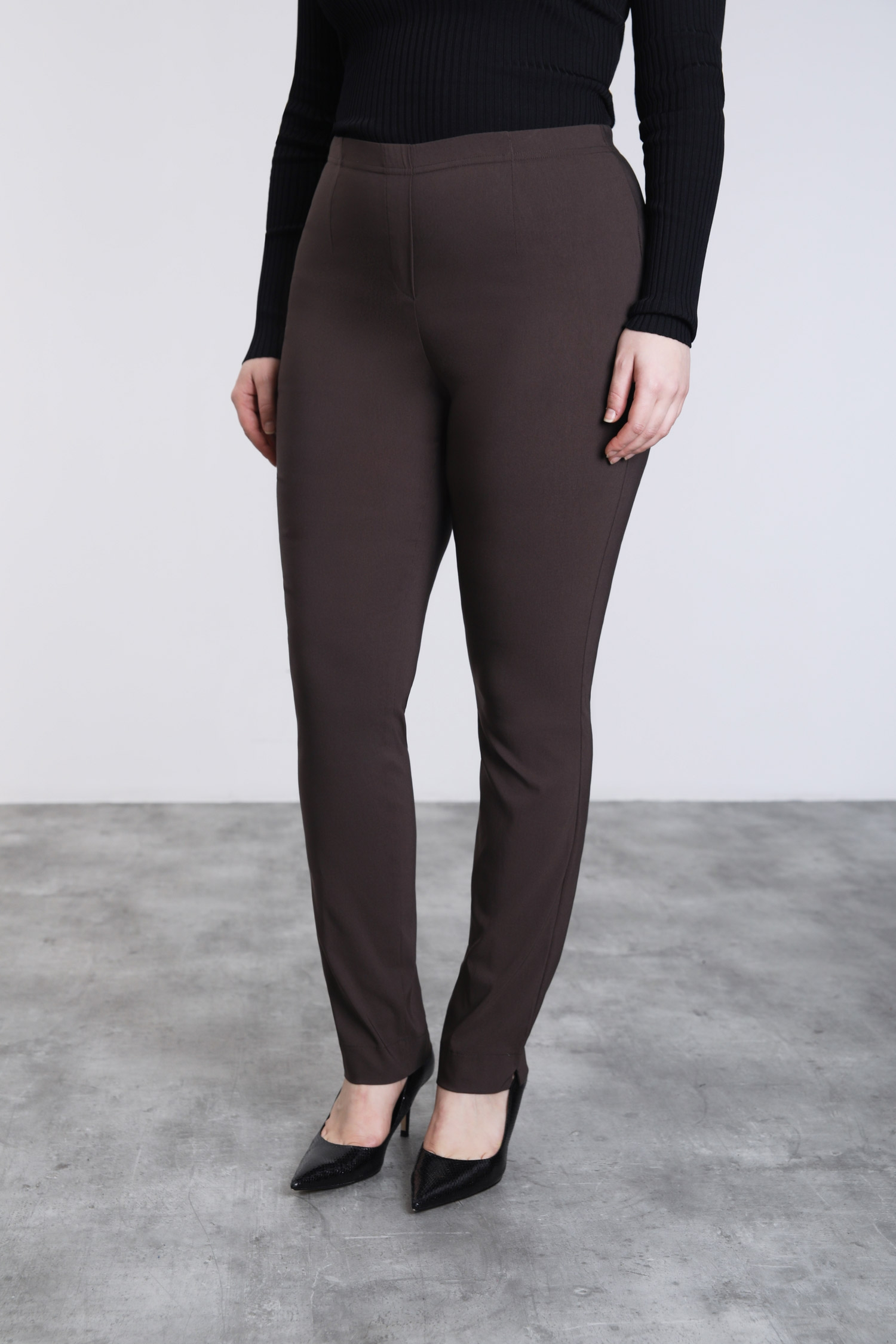 Pantalon droit en bengaline