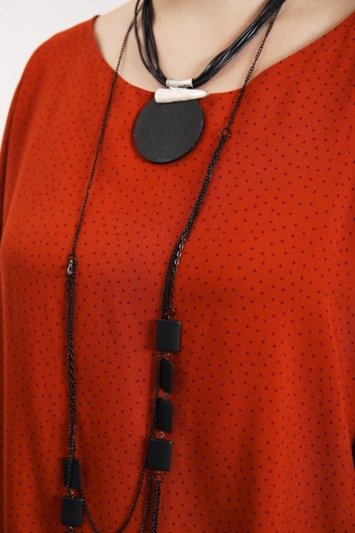 Tunic fluid dress