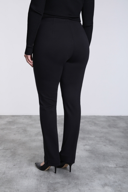 Long straight trousers