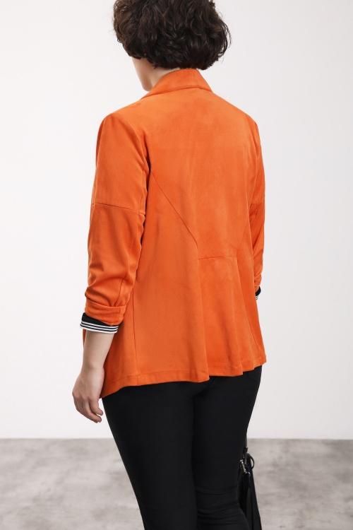 Veste style perfecto - Orange