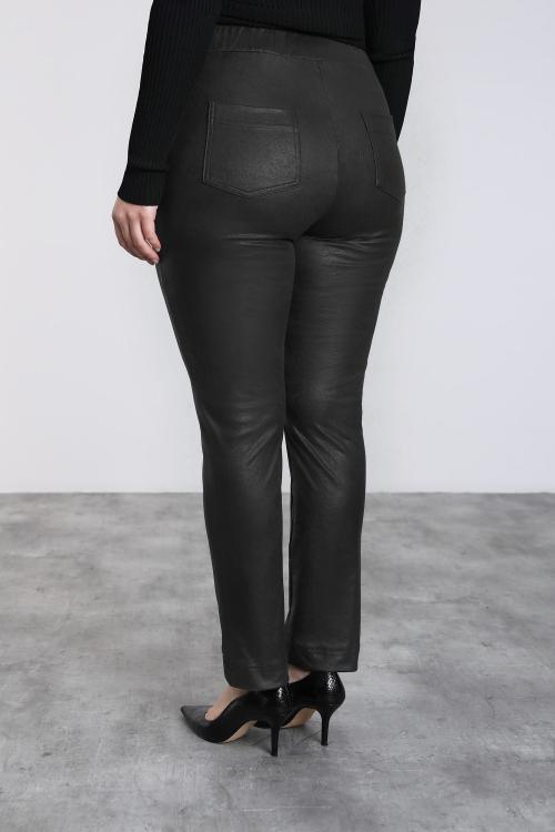 Pantalon élégant enduit
