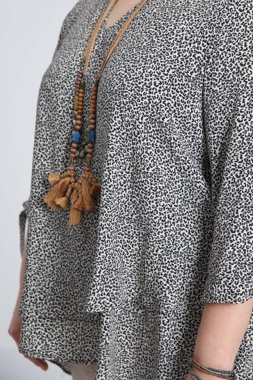 T shirt-Petitetache/noir