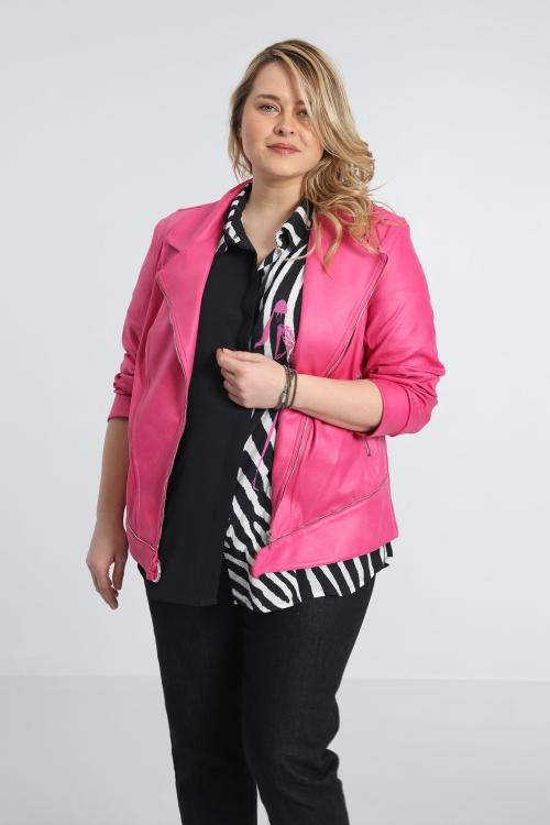 Perfecto imitation leather jacket