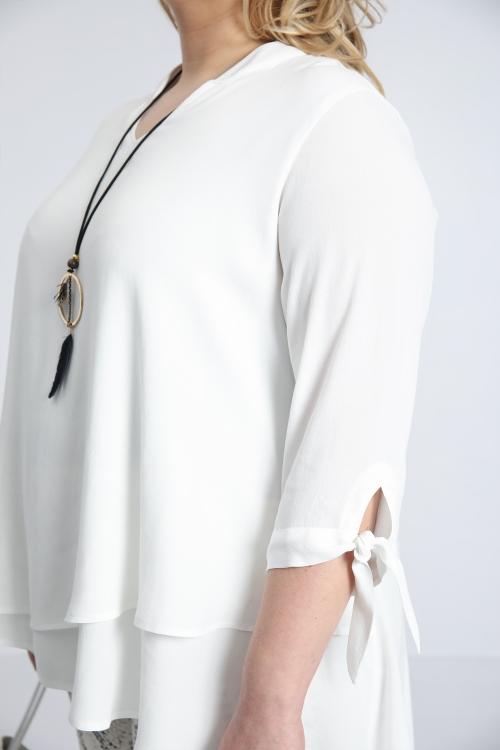 T shirt-Ecru