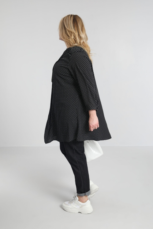 Chemise avec plastron de plis