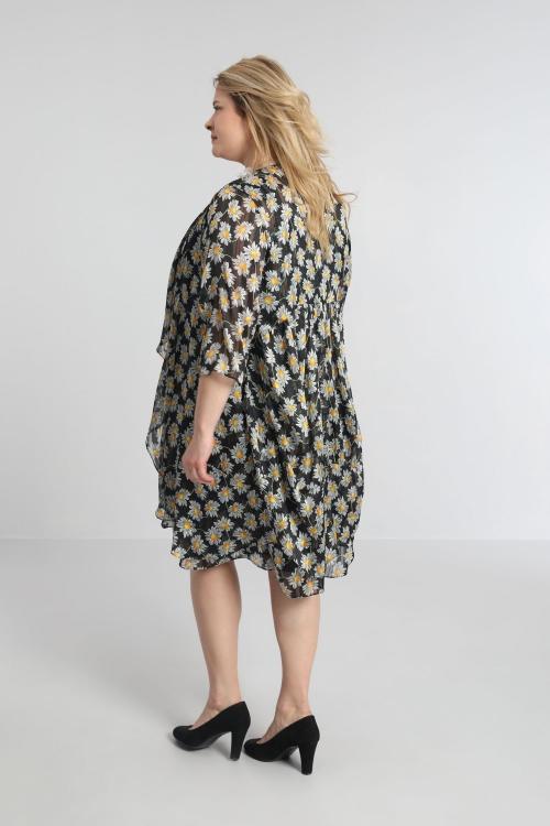 Printed veil vest
