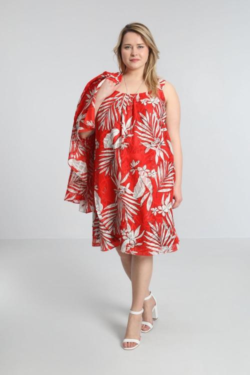 Robe tunique voile