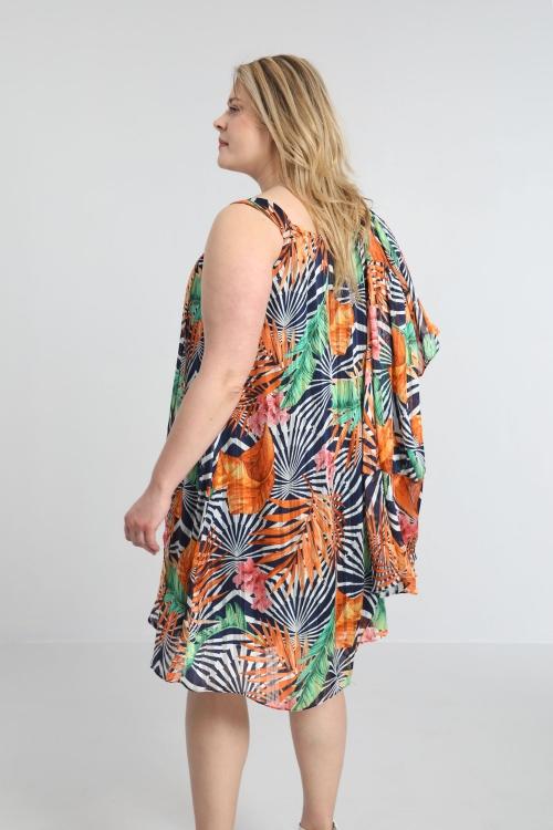 Veil tunic dress