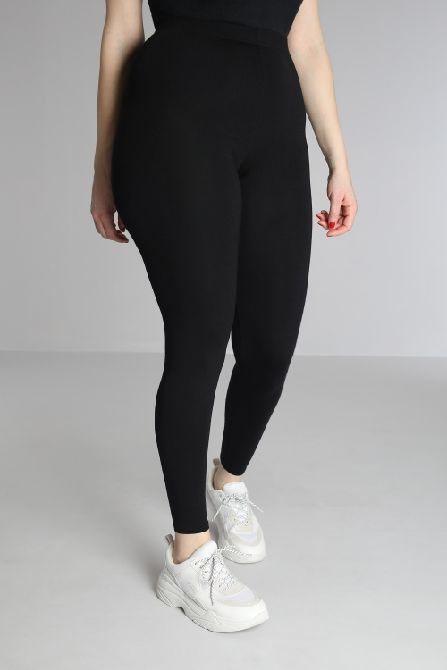 Viscose knit leggings