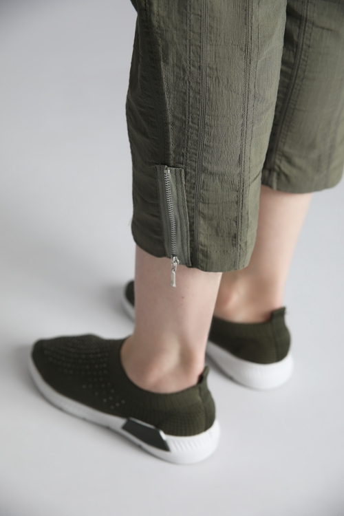 Pantalon texturé