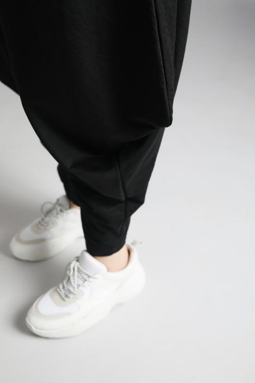 Pantalon effet sarouel