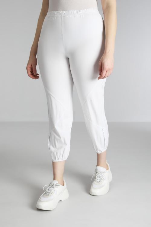 Pantalon 7/8 avec soufflet au bas