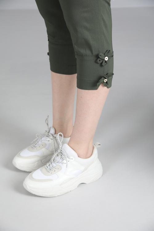 Pantalon-Kaki