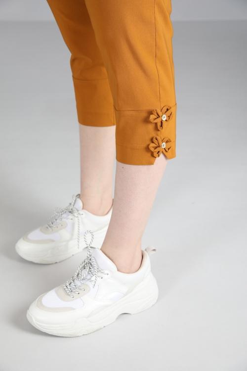 Pantalon-Ocre