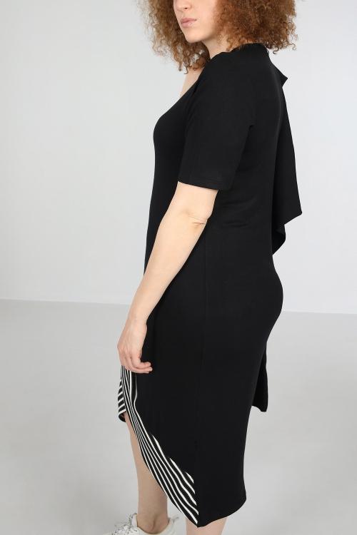 Mesh crossover dress