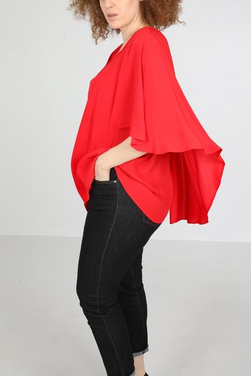 Lightweight cape jacket