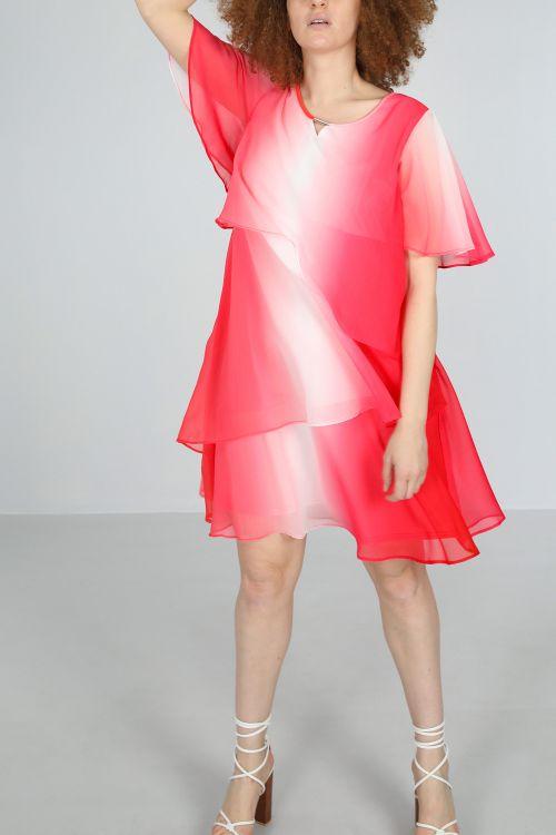 Robe-Fushia/t&dye
