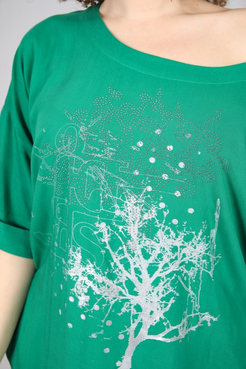Silkscreen Oversized T-Shirt & Nails - Delivery from the 20th/05