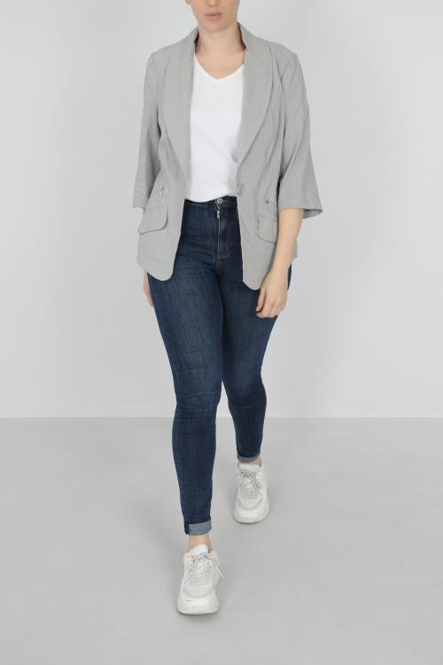 Lightweight blazer jacket