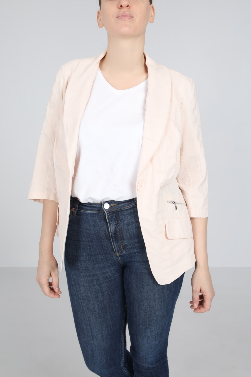 Lightweight blazer jacket