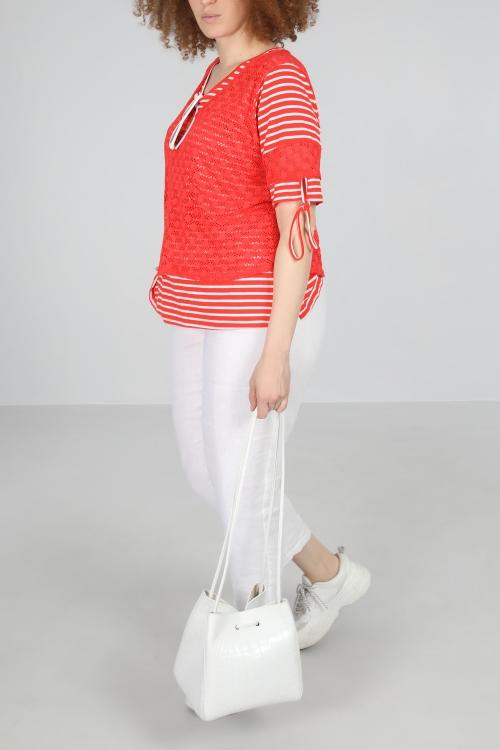 T shirt-Rouge