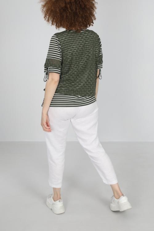 T shirt-Kaki
