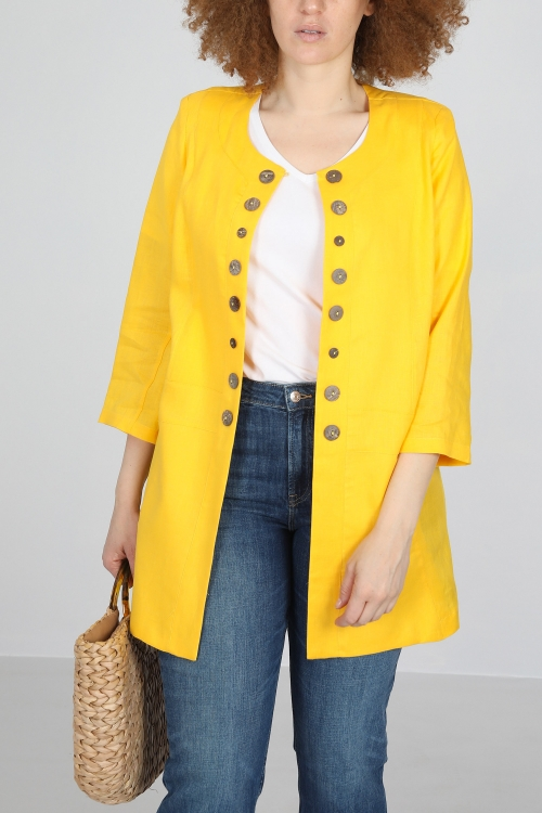 Linen summer jacket