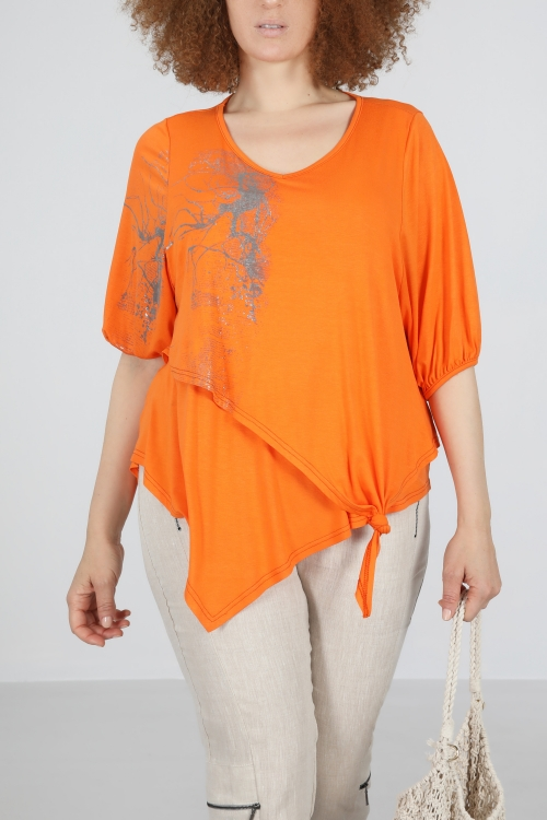 T shirt-Orange