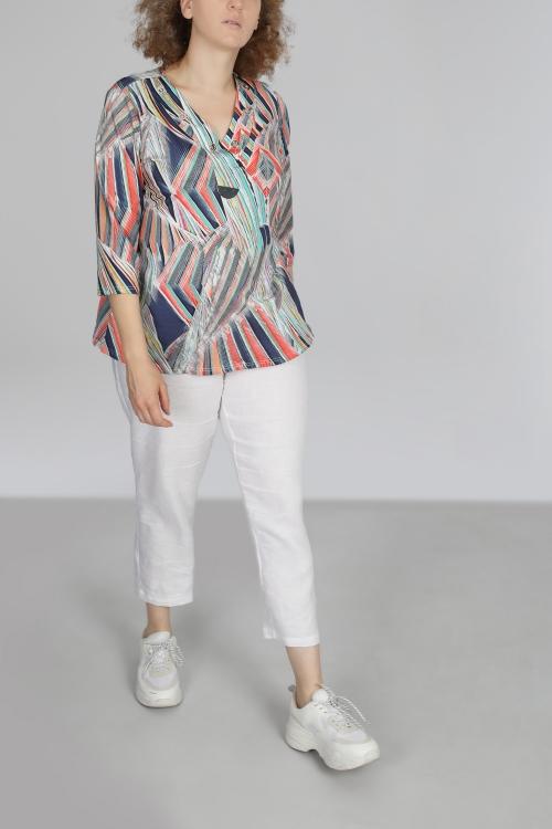 T shirt-Rayure/multico