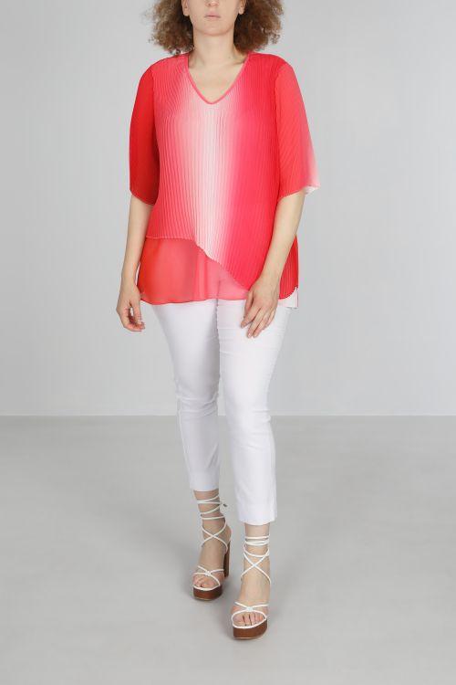 T shirt-Fushia/t&dye