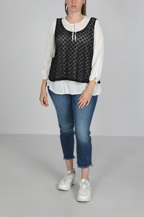 Lace shirt and tank top
