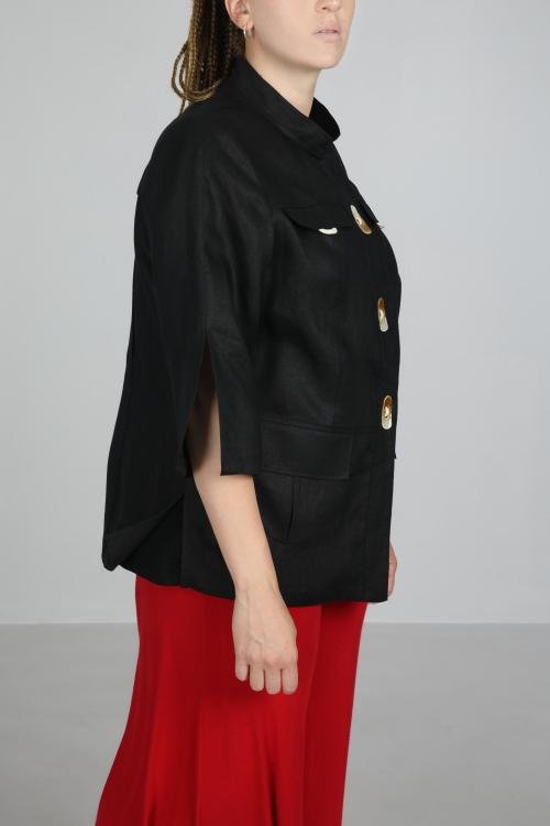 Saharan linen jacket