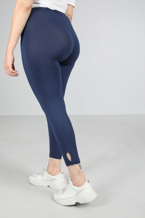 leggings with ankle closure